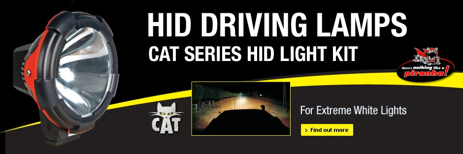Piranha Cat HID Light Kit